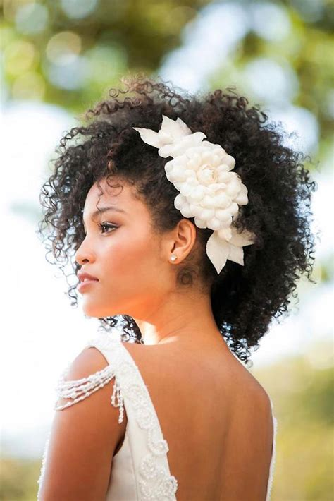 14 Gorgeous Natural Hairstyles for our Naturalista Brides