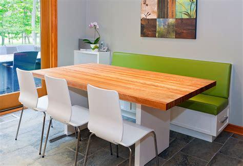 banquette table cuisine cuisine contemporaine griffe cuisine