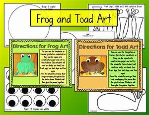 The Creative Colorful Classroom  Frogs And Toads