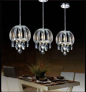 Modern pendant lamp crystal kitchen lighting contemporary