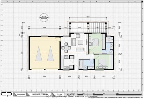 House Plan Samples  Examples Of Our Pdf & Cad House Floor
