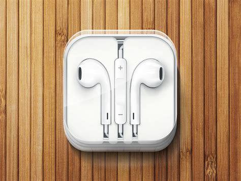 iphone 5 headphones by dmitry kovalenko dribbble