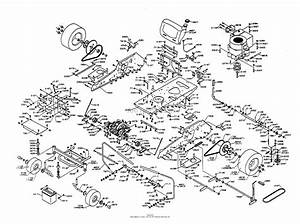 Dixon Ztr 3303  1997  Parts Diagram For Chassis Assembly