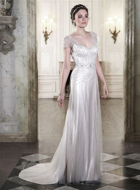 20 Art Deco Wedding Dress With Gatsby Glamour  Chic. Vintage Wedding Dresses For Sale Online. Blush Wedding Dress Fit And Flare. Romantic Lace Mermaid Wedding Dresses. Gorgeous Fit And Flare Wedding Dresses. Steven Khalil Backless Wedding Dresses. Short Wedding Dresses Open Back. Wedding Dresses At Bluewater. Discount Rustic Wedding Dresses