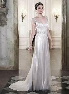 20 art deco wedding dress with gatsby glamour chic With deco wedding dress