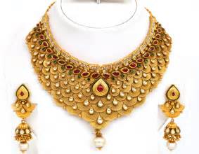 designer jewellery indian gold jewellery necklace designs with price