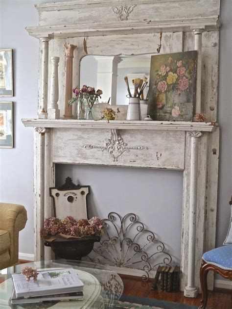 Chateau Chic A New Find Inspires A Change On The Mantel