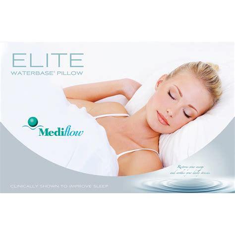 mediflow waterbase pillow mediflow elite waterbase pillow the pink