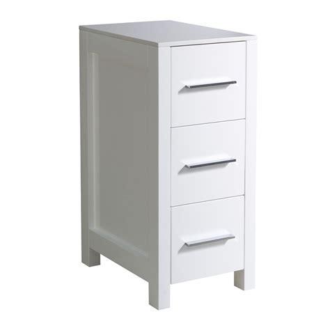 12 Inch Wide Bathroom Floor Cabinet by White Bathroom Linen Cabinet Uvfst6212wh