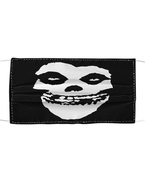 Misfits cloth face mask - Cusstee