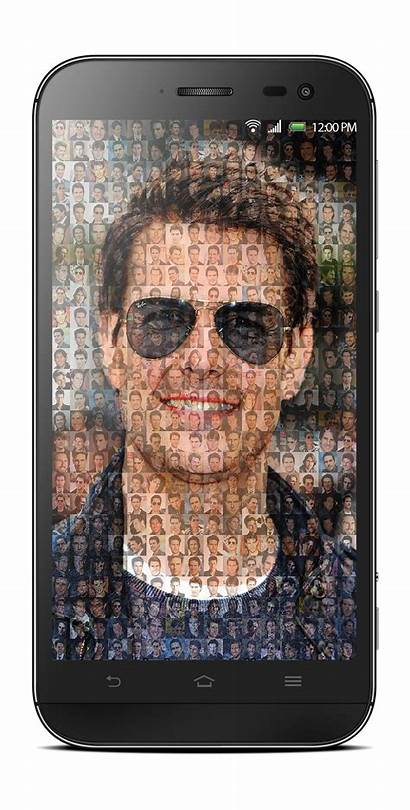 Collage Pixel Create Mosaic Different Frame