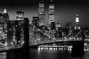 New York Black And White Skyline