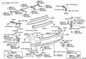 Lexus Rx 350 Cover  Rear Bumper  Spec  Back  Clearance