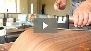 Diamond Knife Sharpener Instructional Video
