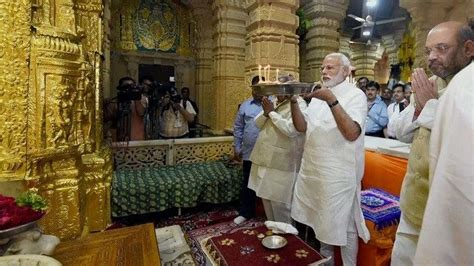 Gujarat: PM Modi appointed chairman of Somnath temple ...