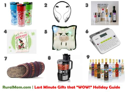 last minute gifts that wow holiday gift guide