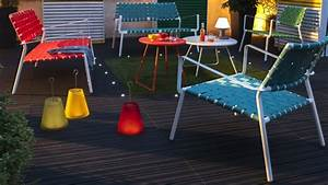 un salon de jardin pop moderne With salon de jardin moderne