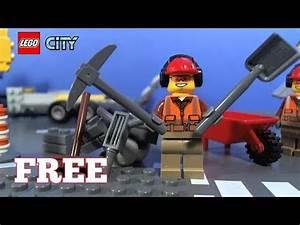 Lego City Magazin : lego city magazine with free building worker youtube ~ Jslefanu.com Haus und Dekorationen