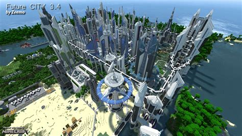 future city  minecraft building  future home design