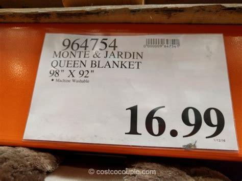 monte  jardin jacquard queen blanket