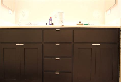 How To Refinish Bathroom Cabinets With Paint by Inside The Frame The Master Bathroom Project