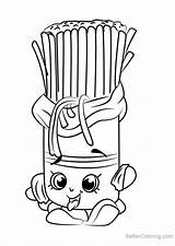 Pasta Coloring Pages Shopkins Printable Fasta Getcolorings Adults Magnificent sketch template