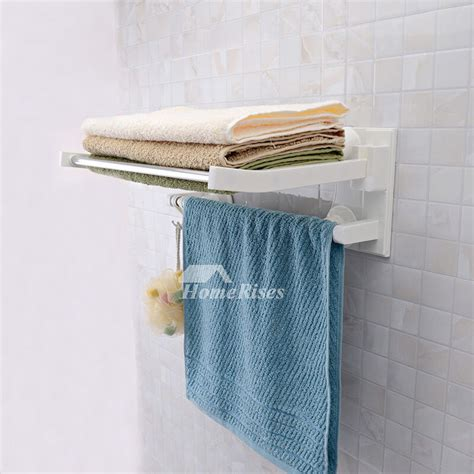 folding towel rack stainless steel towel rack layer suction cup
