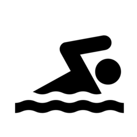 foto de Swimmer competitive swimming clipart black and white