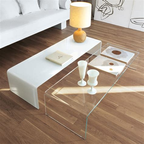white glass coffee table 30 glass coffee tables that bring transparency to your
