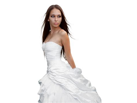 Wedding Dresses For Girls : Women In Transparent Dresses