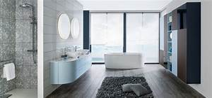 10 salles de bains qui font la tendance 2014 travauxcom With porte d entrée alu avec aide financiere pour renovation salle de bain