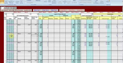Stock Report Template Excel