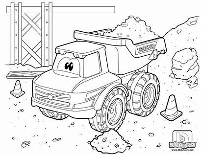 Downloads Coloring Truck Dump Volvo Desktop Drag