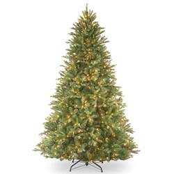 5ft pre lit tiffany fir feel real artificial christmas tree hayes garden world