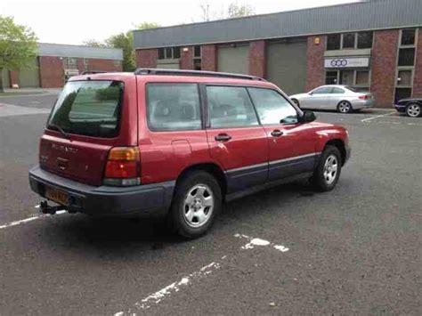 maroon subaru subaru 1999 forester gls maroon car for sale