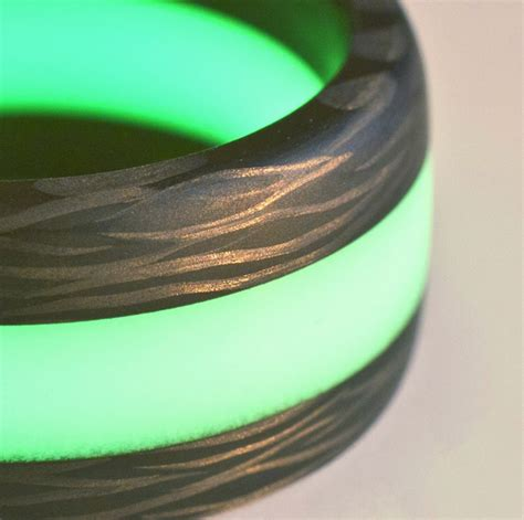 Black Badger's Glowing Isotope Light Ring  Lightopia's. 6mm Black Tungsten Wedding Rings. 10mm Wedding Rings. Twice Rings. Natural Unheated Rings. Proposal Ring Engagement Rings. Celebrity Rings. Large Diamond Rings. Anodized Rings