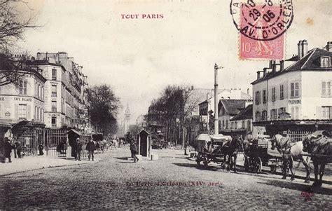 poste porte d orleans porte d orl 233 ans xive arr cartes postales anciennes sur cparama