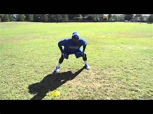 Play Like A Pro! - Linebacker Drill - Shuffle Read Run ...
