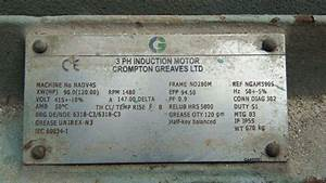How To Understand Motor Nameplate Details S  L