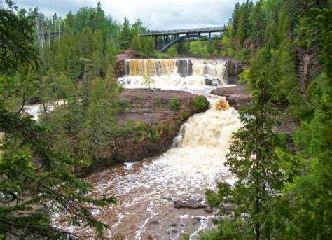 minnesota natural shore north falls wonders mn waterfall state waterfalls places visit most road trip lake trails gooseberry ultimate mr