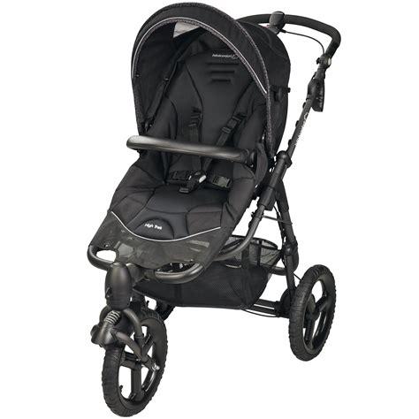 chambre à air poussette high trek high trek de bébé confort poussettes polyvalentes aubert