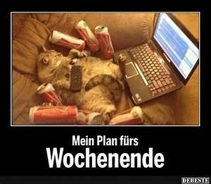 Lustiges Bild Wochenende : mein plan f rs wochenende lustige bilder spr che witze echt lustig ~ Frokenaadalensverden.com Haus und Dekorationen