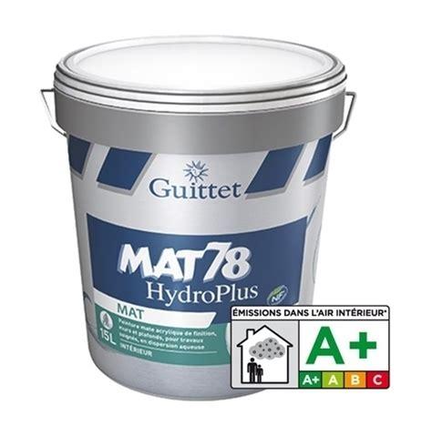 peinture guittet mat 78 hydro confort blanc guittet 2366 rev 234 tement sol et mur