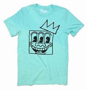 T Shirt Keith Haring : art t shirt keith haring 3 eyes basquiat crown t shirt ~ Melissatoandfro.com Idées de Décoration