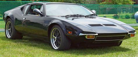 1972 DeTomaso Pantera - Black - Front Angle