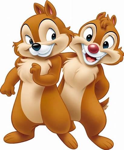 Cartoon Squirrels Famous Dale Chip Donald Duck