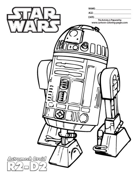 C3po Kleurplaat by R2d2 Coloring Pages Coloring Home