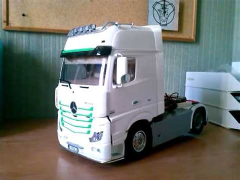 Mercedes Actros Mp4 Tamiya Youtube
