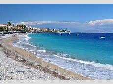 Kiato Beach Photo from Sykea in Corinth Greececom