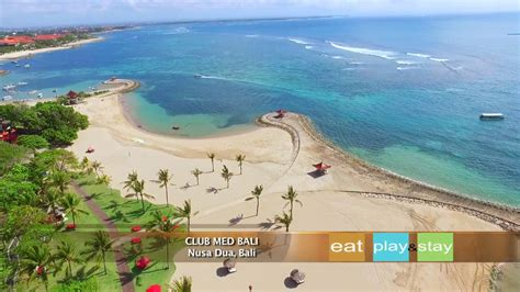 club med bali  overview youtube